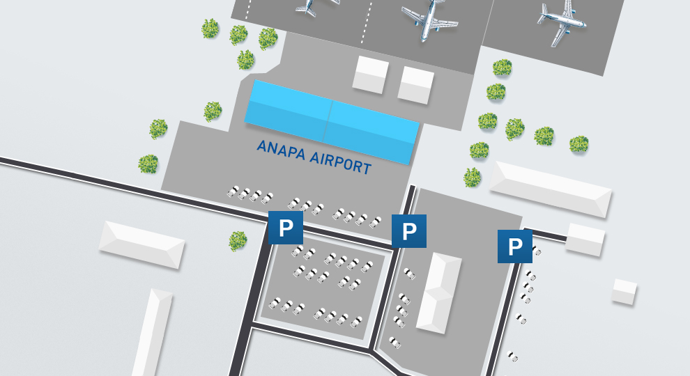 Anapa Airport plan